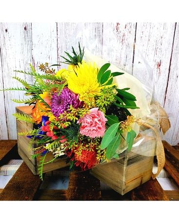 Classic MarketFresh Wrap (4 Week Subscription) Flower Arrangement
