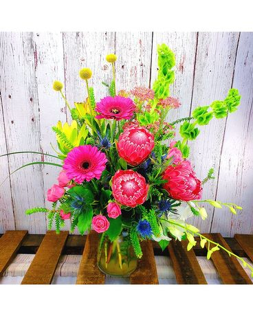 Pink Paradise Flower Arrangement
