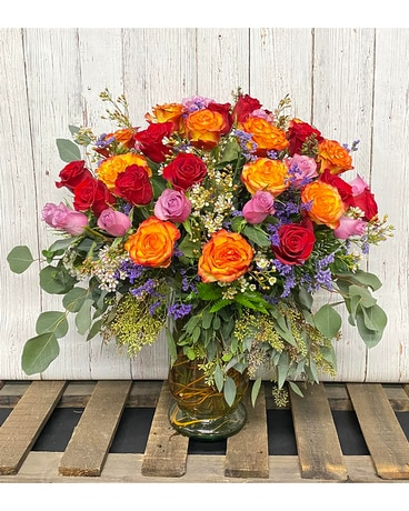 Atomic Love Flower Arrangement
