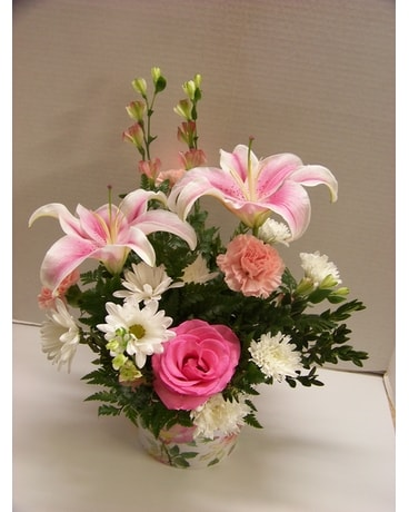 PINK LOVING THOUGHTS Flower Arrangement