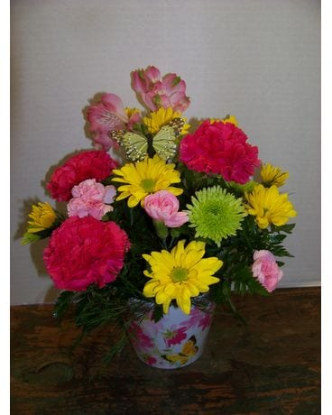 FLORAL POT Flower Arrangement