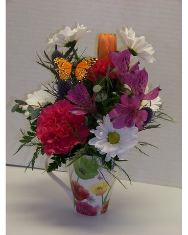 FLORAL MUG Flower Arrangement