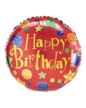 Cosmic Celebrations Mylar Birthday Balloon