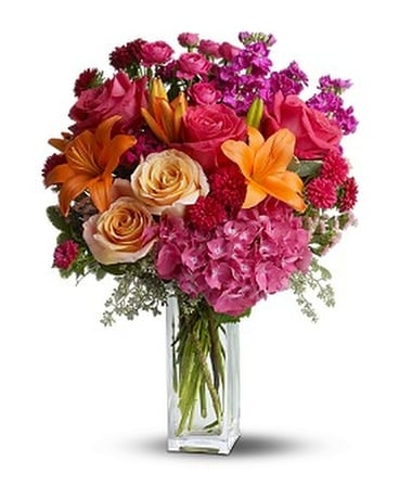 Teleflora's Joy Forever Flower Arrangement