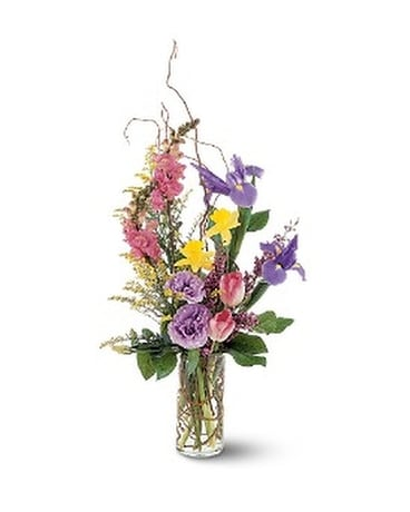 Spring Hope Vase In Glenview Il Glenview Florist Flower Shop