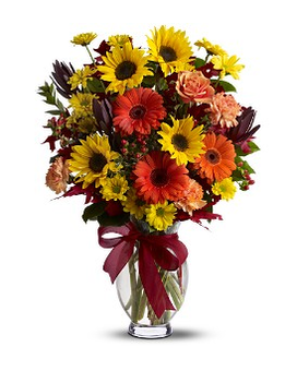Teleflora's Glorious Autumn Flower Arrangement