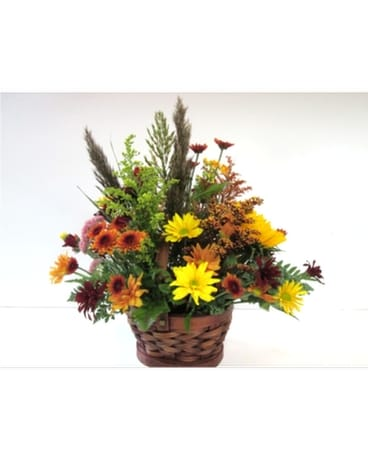 Rustic Autumn Basket (HS-326)