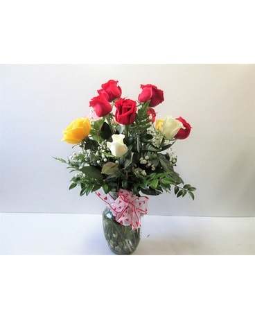 Valentine Rose Special (HS-470) Flower Arrangement