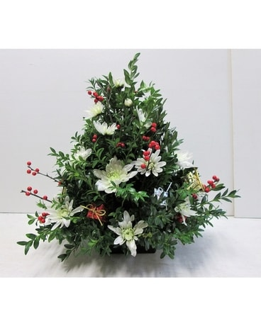 Boxwood Tree with gift packages (HS-520) Flower Arrangement