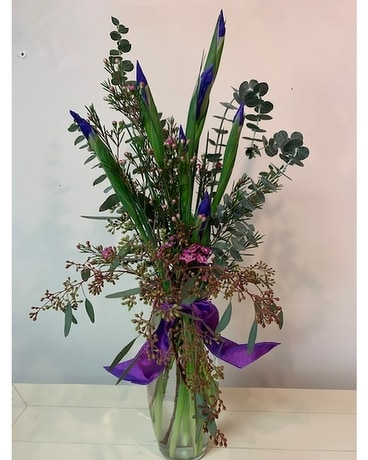 Loving Blues Flower Arrangement