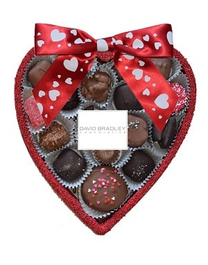 David Bradley Chocolate Heart