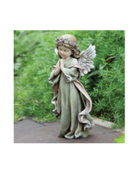 Napco Little Girl Angel Statue