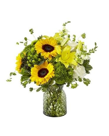 Garden Grown Flower Arrangement