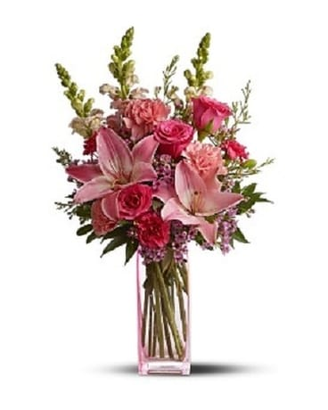 Pink Wink Bouquet Flower Arrangement