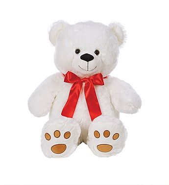 Large White Teddy Bear
