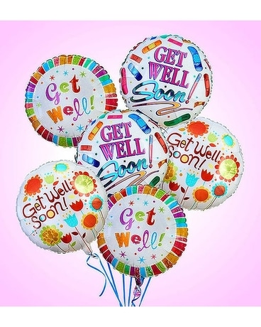 Get Well Balloon Bouquet Custom product