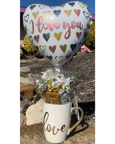 Candy Mug Specialty Arrangement