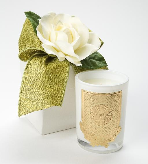Citron LUX Candle - 08oz. Flower Box