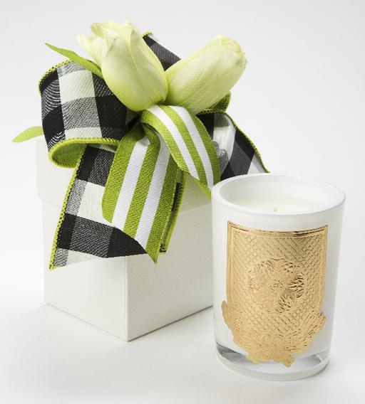 Lime Blossom LUX Candle - 08oz. Flower Box