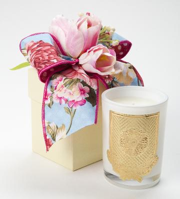 Flower Market LUX Candle - 8oz. Flower Box