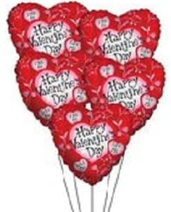 HAPPY VDAY Balloons