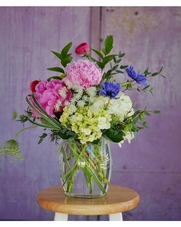 Summer Peony Delight Flower Arrangement