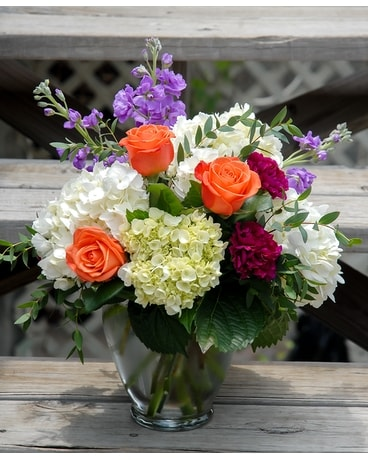 Sunrise Blooms Flower Arrangement