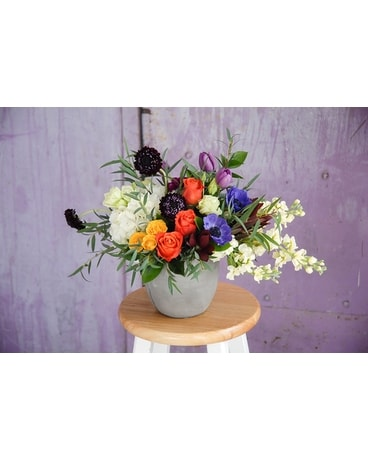 Bountiful Lush Blooms Flower Arrangement