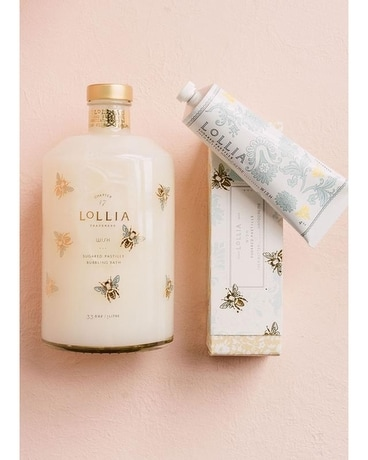 LoLLIA Wish Bubble Bath & Handcreme Duo Gifts