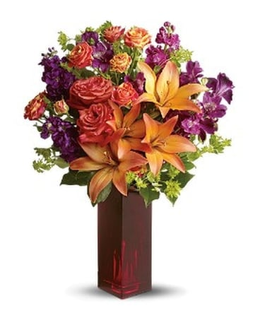Teleflora's Autumn in New York Flower Arrangement