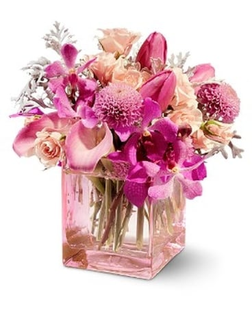 Teleflora's Oh So Pink Flower Arrangement