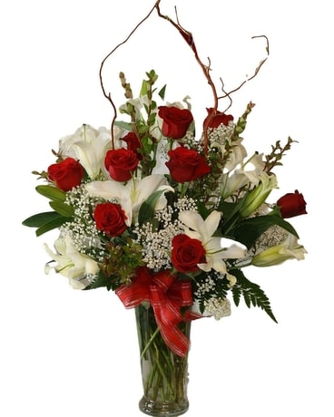 Passion in Bloom Flower Arrangement