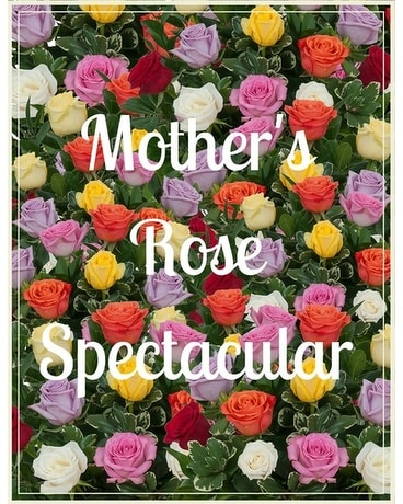 Mother's Rose Spectacular Flower Arrangement