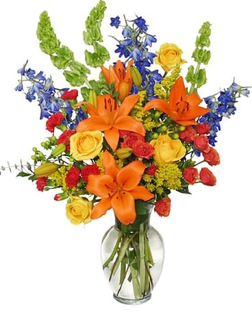 Awe Inspiring Autumn Flower Arrangement