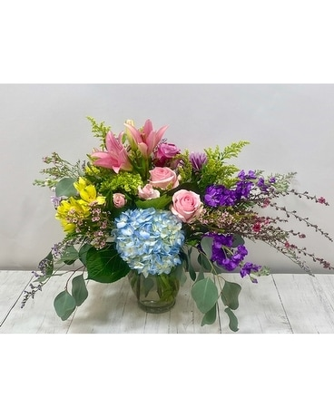 English Garden Flower Arrangement