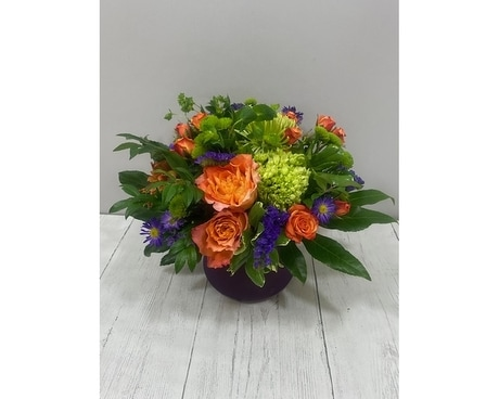 Island Sunrise Flower Arrangement