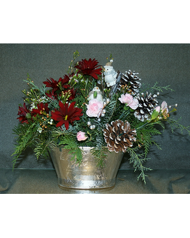 Flight of Winter Flower Arrangement