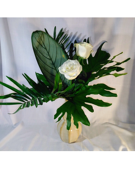 Simply Tropical Flower Arrangement