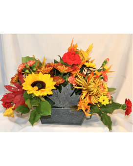 Maple Leafs Flower Arrangement