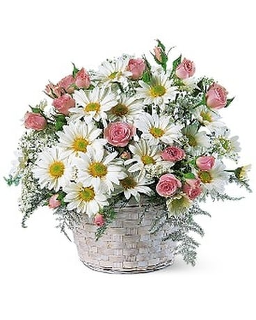 Posy Basket Flower Arrangement