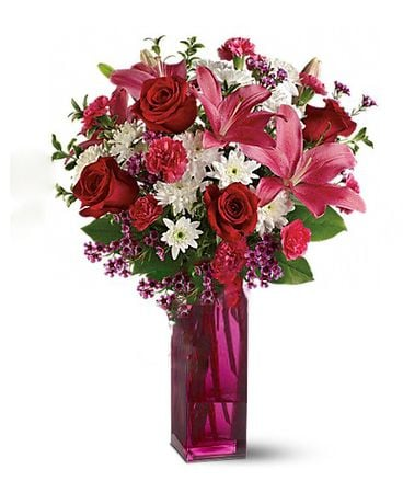 Bunches Of Blooms Bq Flower Arrangement