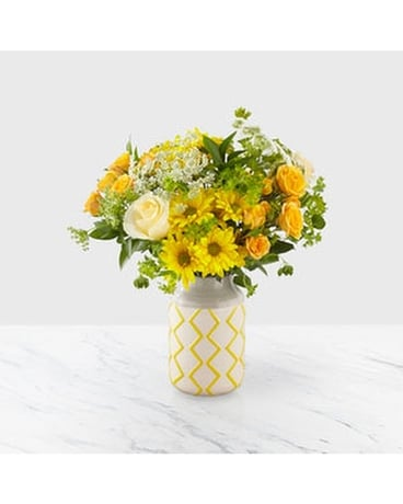 The FTD® Hello Sunshine™ Bouquet Flower Arrangement