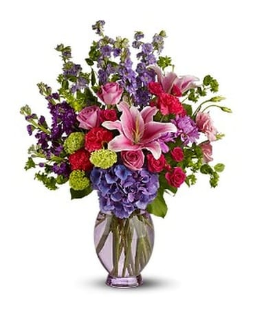 Teleflora's Beauty n' Bliss Flower Arrangement ...