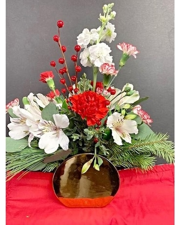 Golden Grace Flower Arrangement