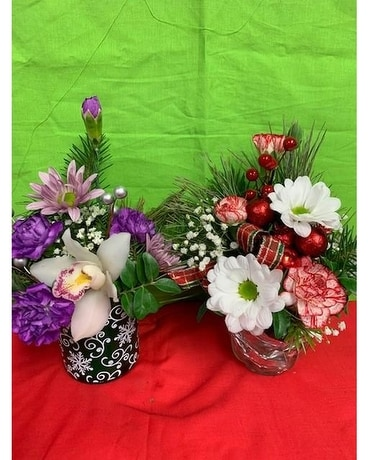 Holiday Jewels Flower Arrangement