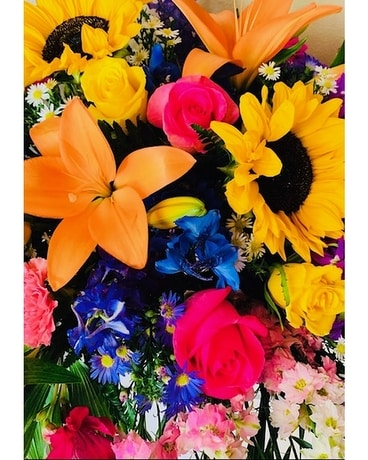 Colorful Combo Flower Arrangement