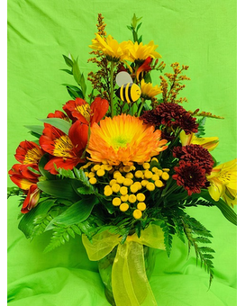 Citrus Sunshine by Cheryl Flower Arrangement