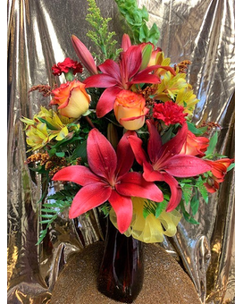 Fall Fantasy Flower Arrangement