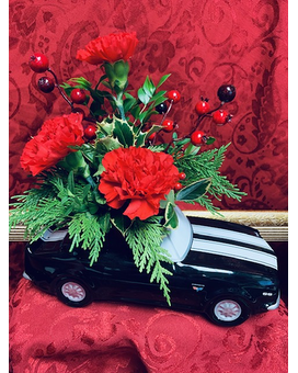All I want for Christmas Flower Arrangement