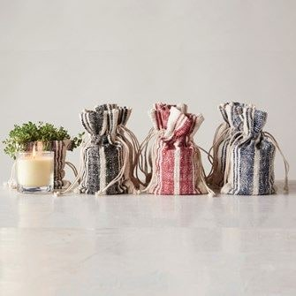 Flaire Candle in Burlap Bag